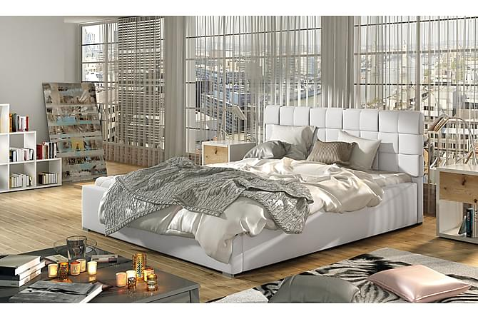 Sängram Brandee 180x200 cm - Vit - Möbler - Sängar - Sängram & sängstomme