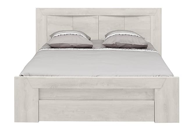Sängram Elysium 140x190 - Vit - Möbler - Sängar - Sängram & sängstomme