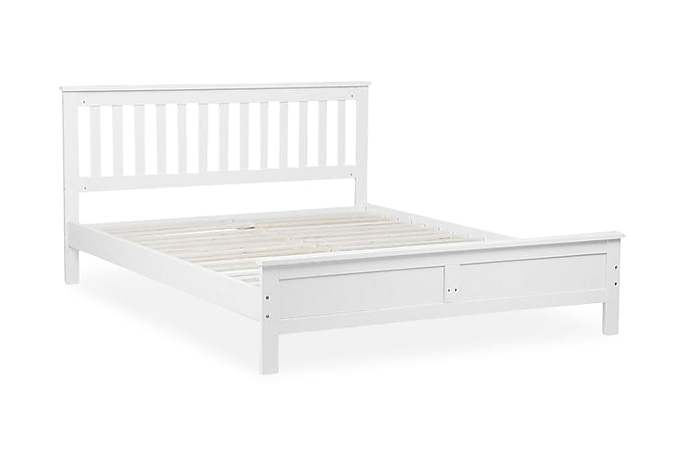 Sängram Mayenne 140x200 cm - Vit - Möbler - Sängar - Sängram & sängstomme