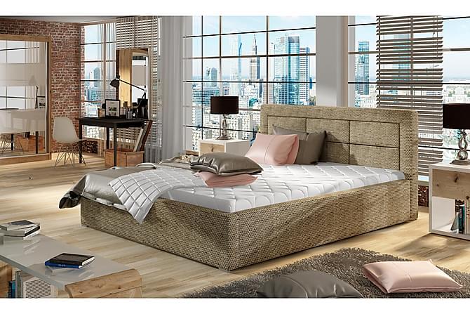 Sängram Monreale 160x200 cm - Beige - Möbler - Sängar - Sängram & sängstomme