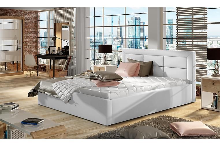 Sängram Monreale 160x200 cm - Vit - Möbler - Sängar - Sängram & sängstomme