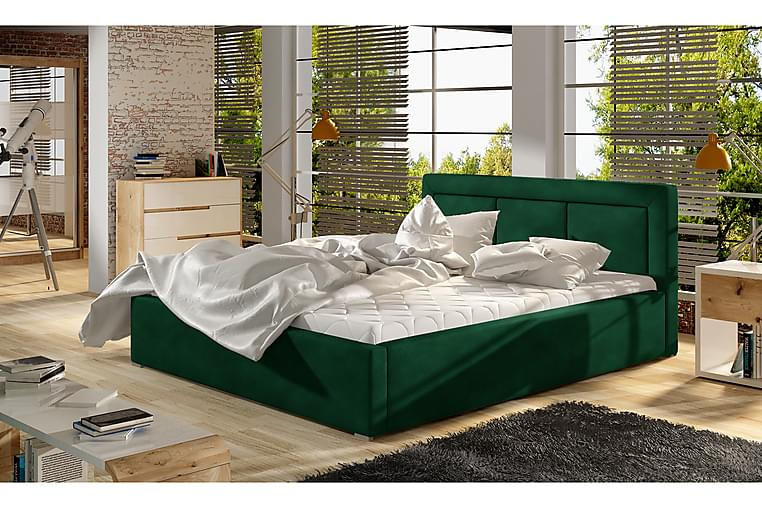 Sängram Rosios 140x200 cm - Grön - Möbler - Sängar - Sängram & sängstomme