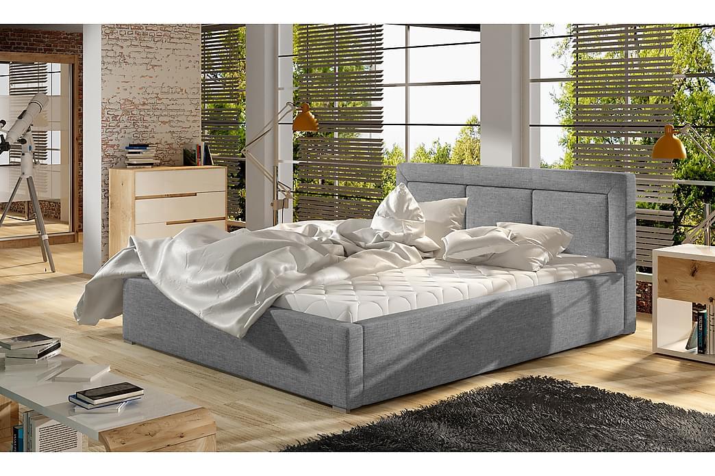 Sängram Rosios 160x200 cm - Grå - Möbler - Sängar - Sängram & sängstomme
