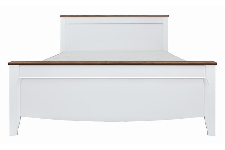 Sängram Storholmen 160 cm - Vit|Trä|natur - Möbler - Sängar - Sängram & sängstomme