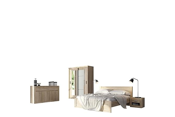 Sovrumsset Idea - Ek - Möbler - Sängar - Sängram & sängstomme
