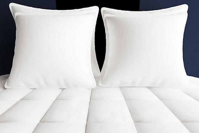 Vinterduntäcke 2 st 155x220 cm - Vit - Möbler - Sängar - Sängtillbehör