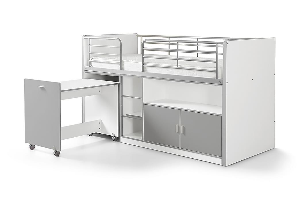 Barnsäng/Loftsäng Bringberry Förvaring - Grå - Möbler - Sängar - Våningssängar