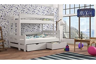 Våningssäng Mindy 120x200 med Förvaring