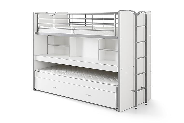 Våningssäng/Loftsäng Bringberry - Vit - Möbler - Sängar - Våningssängar