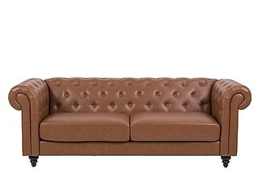 Soffa Charlietown 3-sits Läder