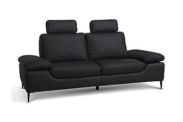 Soffa Milazzo 3-sits Läder/PVC