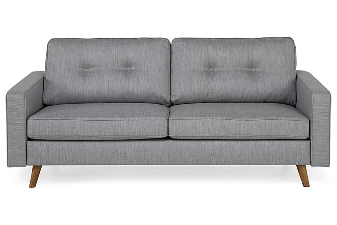 Soffa Miller 3-sits - Ljusgrå - Möbler - Soffor - 2-4-sits-soffor