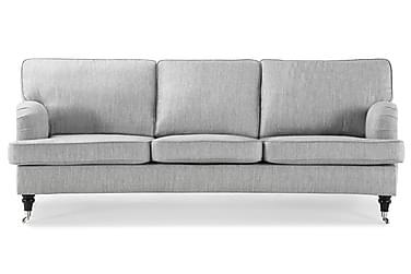 Soffa Oxford Classic 3-sits Svängd