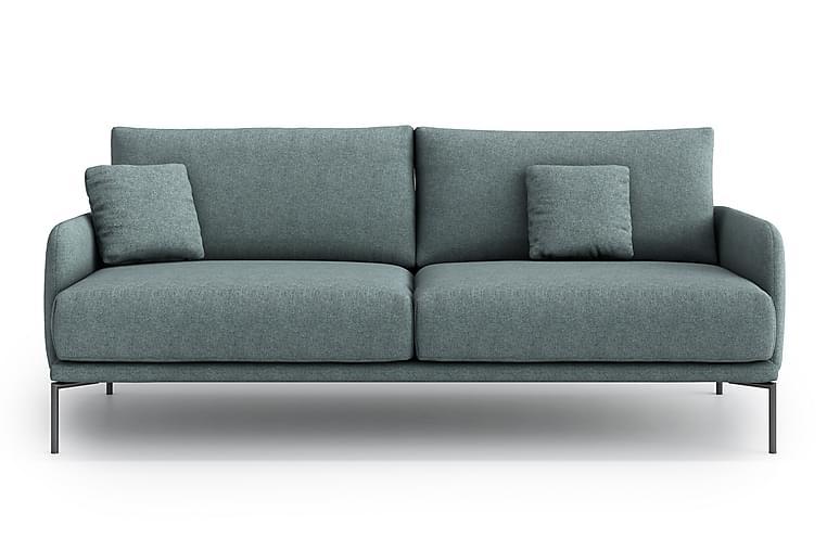 Soffa Zoeh 3-sits - Grå - Möbler - Soffor - 2-4-sits soffor