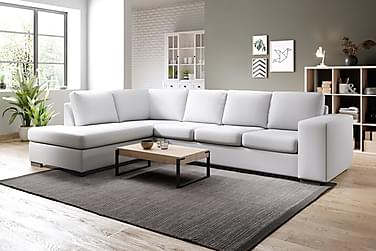 Soffa Sit Down med Schäslong Large Vänster Konstläder