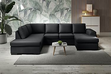 U-soffa Friday Lyx Large med Divan Höger Konstläder