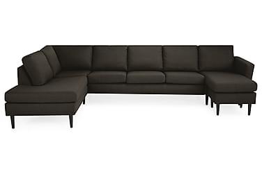 U-soffa Hudson Large med Divan Höger