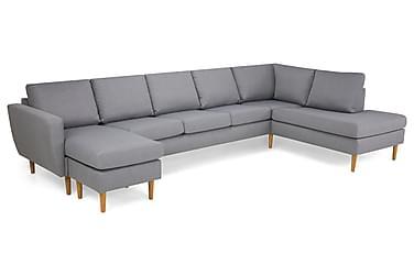 U-soffa Hudson Large med Divan Vänster