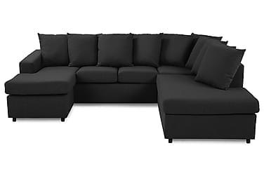 U-soffa Nevada Small Divan Vänster inkl Kuvertkuddar