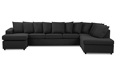 U-soffa Nevada XL Divan Vänster inkl Kuvertkuddar