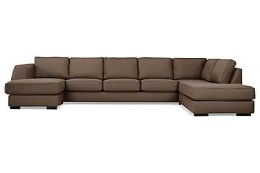 U-soffa Ontario Large med Divan Vänster