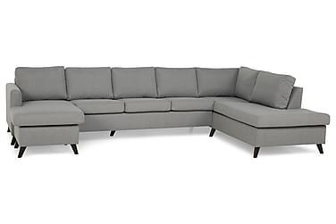 U-soffa Yen Large med Divan Vänster