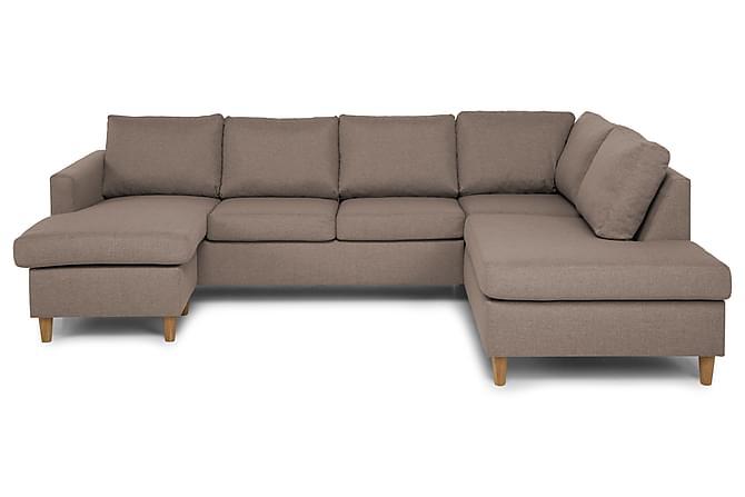 U-soffa Yen med Divan Vänster - Beige - Möbler - Soffor - Divansoffor & U-soffor