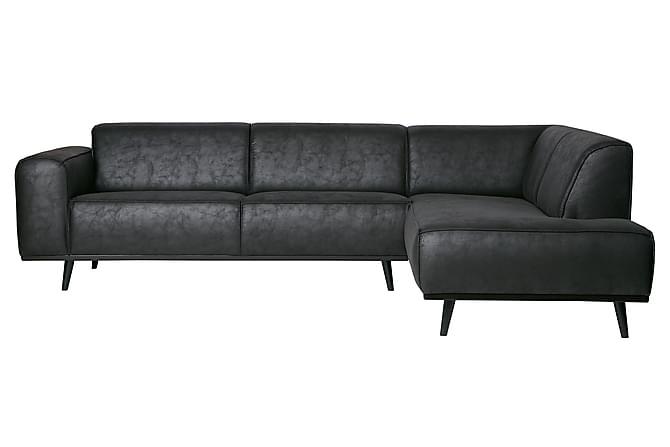 Hörnsoffa Nowell - Svart - Möbler - Soffor - Hörnsoffor
