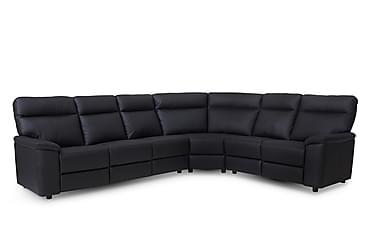Hörnsoffa Spelthorne Läder/PVC Höger