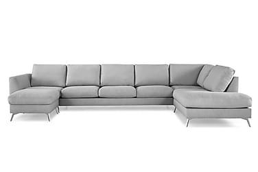 U-soffa Friday Lyx med Divan Vänster