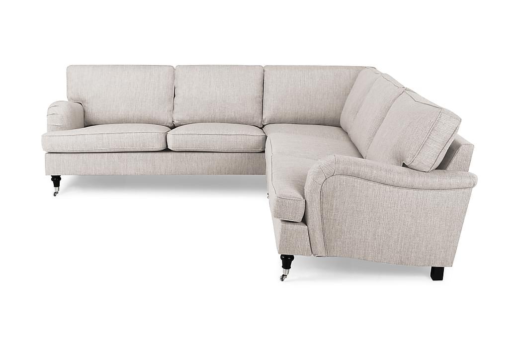 Hörnsoffa Oxford Classic - Beige - Möbler - Soffor - Howardsoffor