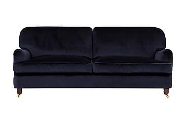 Sammetssoffa Oxford Deluxe 3-sits