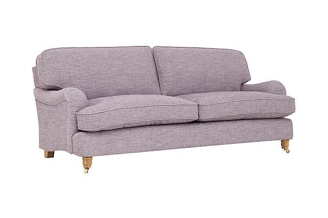 Soffa Oxford Deluxe 3-sits - Lila - Möbler - Soffor - Howardsoffor