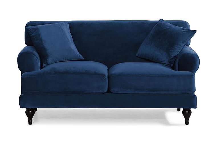 Sammetssoffa Webb 2-sits - Midnattsblå - Möbler - Soffor - Howardsoffor
