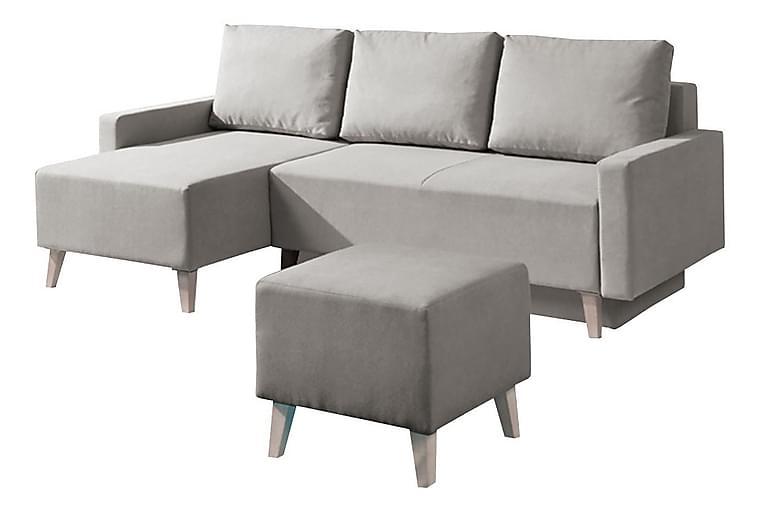 Soffgrupp Oviedo - lila/grå - Möbler - Soffor - Soffgrupp