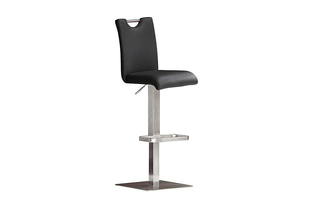 Barstol Bardo - Svart Läder - Möbler - Stolar - Barstolar
