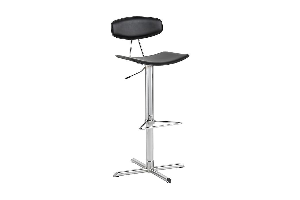 Barstol Blaise Konstläder - Svart - Möbler - Stolar - Barstolar