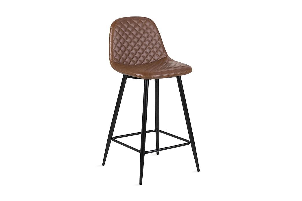 Barstol Gaigai - Mörkbrun Svart - Möbler - Stolar - Barstolar