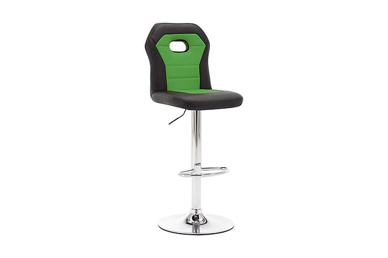 Barstol grön konstläder - Grön - Möbler - Stolar - Barstolar