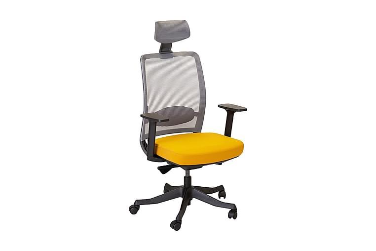 Kontorsstol Anggun - Gul/Grå - Möbler - Stolar - Kontorsstol & skrivbordsstolar