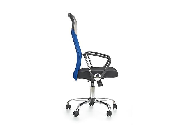 Kontorsstol Rivero - Svart Blå - Möbler - Stolar - Kontorsstol & skrivbordsstolar