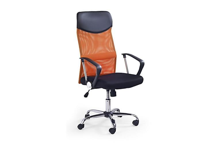 Kontorsstol Rivero - Svart Orange - Möbler - Stolar - Kontorsstol & skrivbordsstolar
