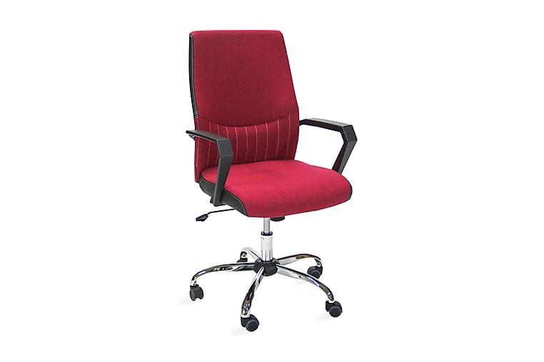 Kontorstol ANGELO 58x59x97-105cm färg: röd - Möbler - Stolar - Kontorsstol & skrivbordsstolar