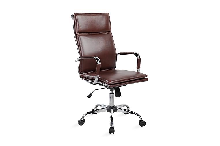 Kontorstol Ultra 55x63xh108-118 cm Brun - Möbler - Stolar - Kontorsstol & skrivbordsstolar