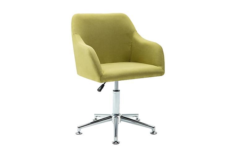Snurrbar kontorsstol grön tyg - Grön - Möbler - Stolar - Kontorsstol & skrivbordsstolar