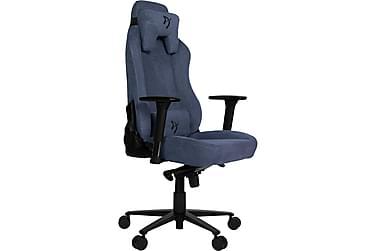 Vernazza Gaming Stol Soft Fabric Blå