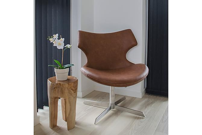 Loungesto Brodnax - Brun - Möbler - Stolar - Matstolar & köksstolar
