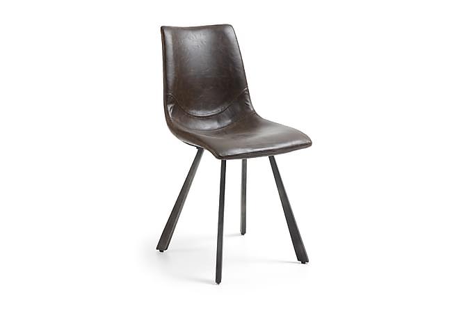 Stol Trac - Mörkbrun - Möbler - Stolar - Matstolar & köksstolar