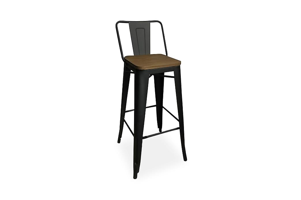Barpall Kasker - Brun|Svart - Möbler - Stolar - Pallar