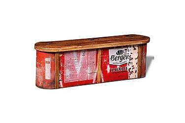 Derian Bänk med Förvaring 120x30 cm